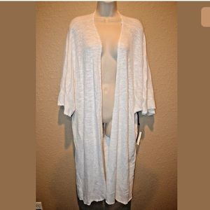 $178 XS/S Tyler Jacob Feel the Piece White Sweater